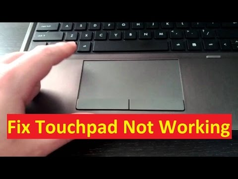 Acer Laptop Touchpad Not Working