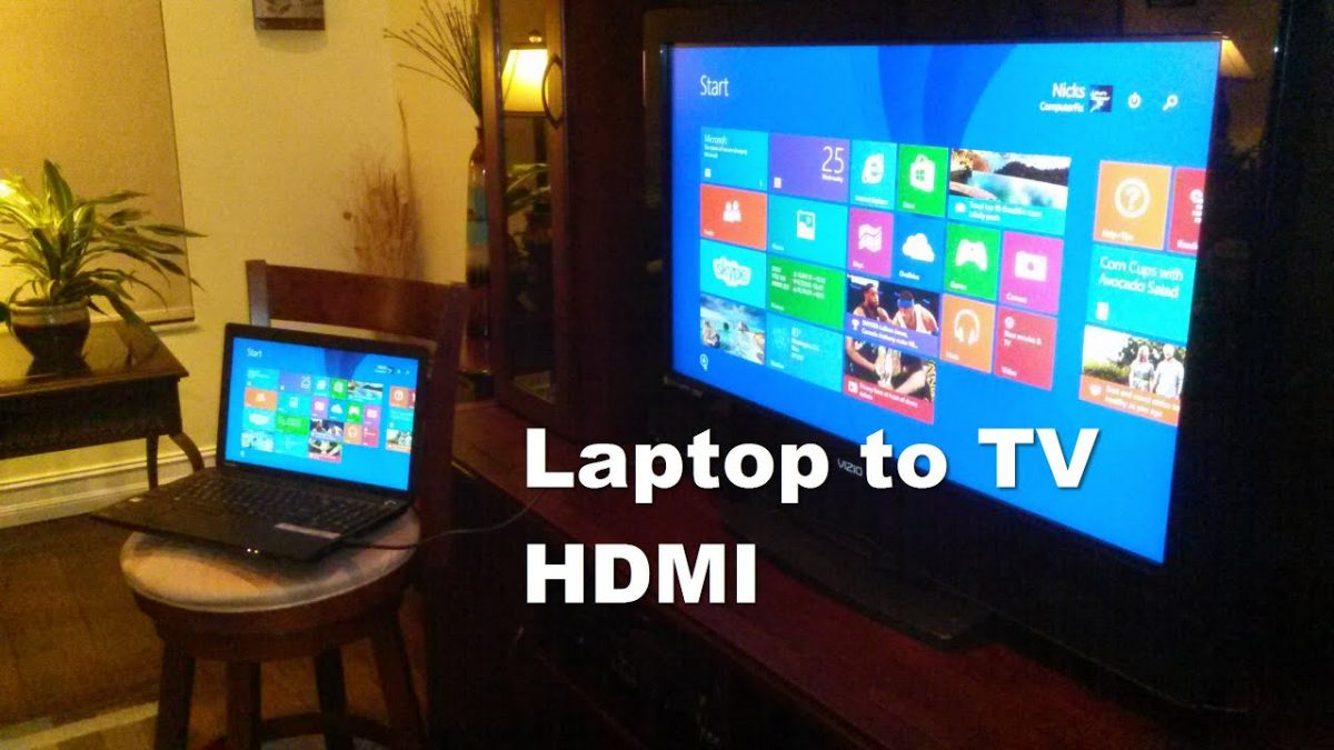 How to Connect Laptop to Smart TV